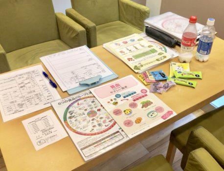 献血ルームでの栄養相談(5月)