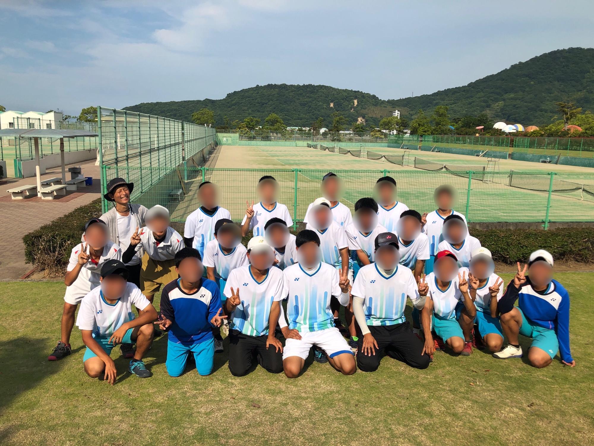 ソフトテニス県総体 個人戦